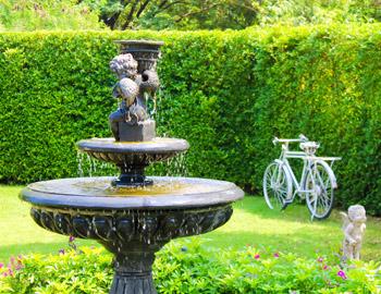 Fontaines pour embellir l'extérieur